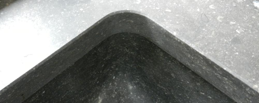 Spoelbakken van natuursteen | Ariës Natuursteen