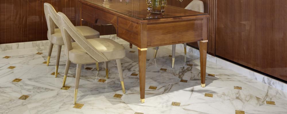 natuursteen vloeren van marmer