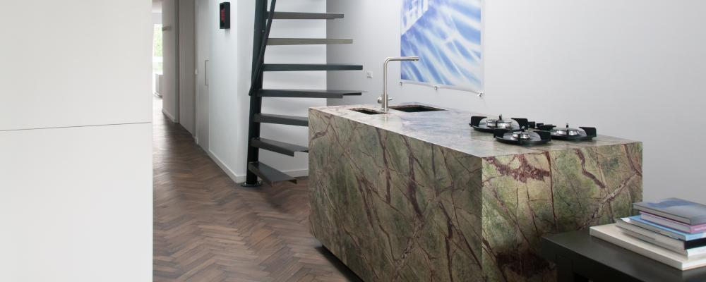 keukenblad marmer interieur
