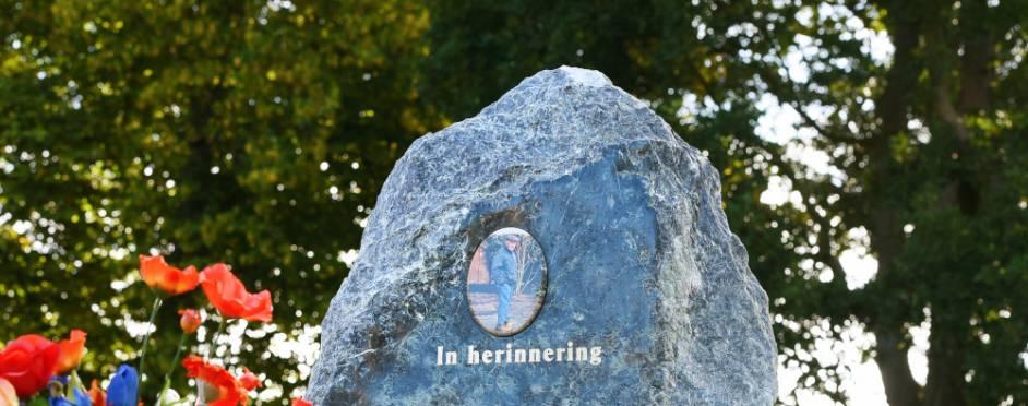 foto op grafsteen
