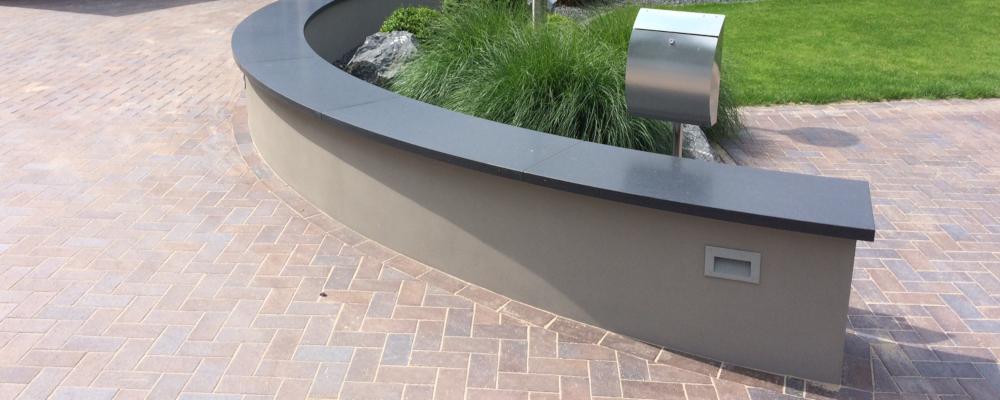 Natuursteen muurafdekker & poerafdekker | Ariës Natuursteen