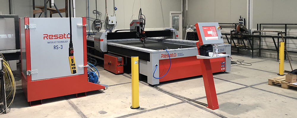 Resato waterjet snijmachine