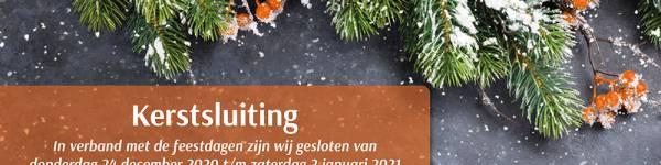 Kerstsluiting 2020