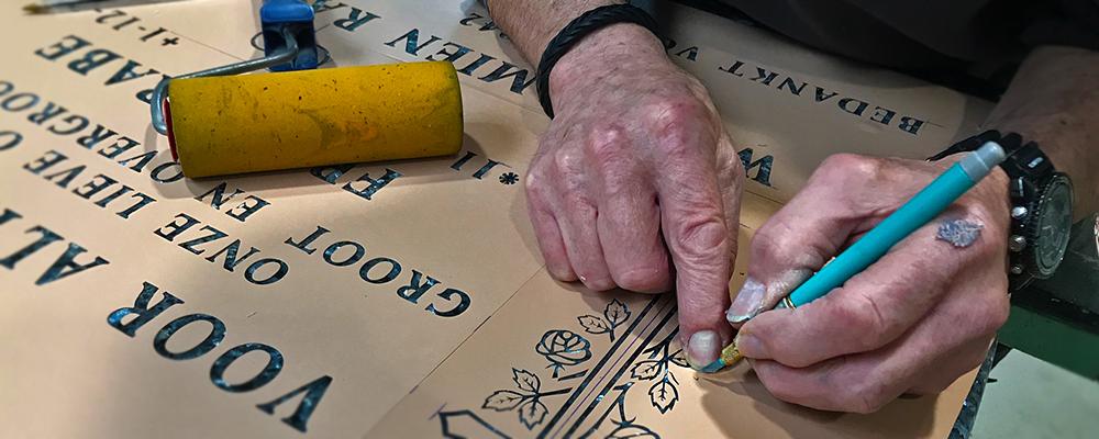 Tips voor het onderhoud van een grafsteen