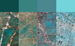 Graniet Amazonita Blue & Green
